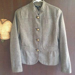 Apt 9 blazer jacket size 4 tweed